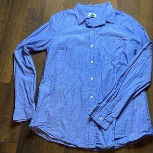 NWOT Medium Wash Denim Shirt